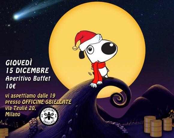 Aperitivo Beneficenza 15 dicembre 2016 Officine Sbiellate Milano