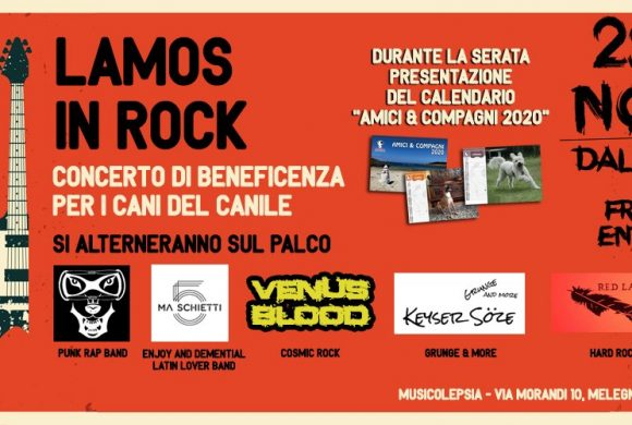 Lamos in Rock – presentazione calendario 2020